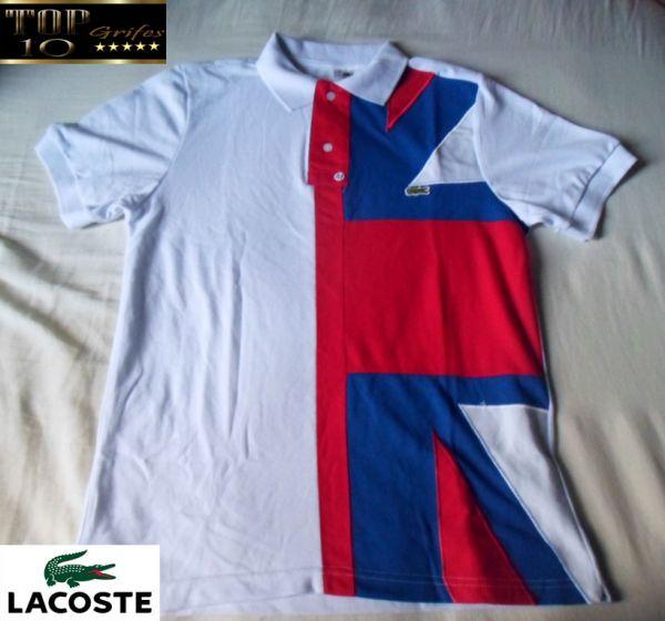 e9016bd80cf Camisa polo Lacoste Países - top10grifes