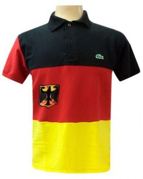 3ccacd7e50282 Camisa polo Lacoste Países - Alemanha - top10grifes